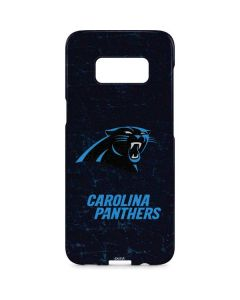 Carolina Panthers Distressed Galaxy S8 Plus Lite Case