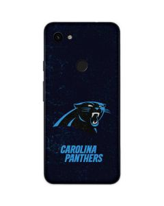 Carolina Panthers Distressed Google Pixel 3a Skin
