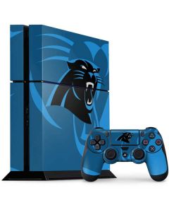 Carolina Panthers Double Vision PS4 Console and Controller Bundle Skin