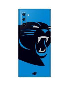 Carolina Panthers Large Logo Galaxy Note 10 Skin