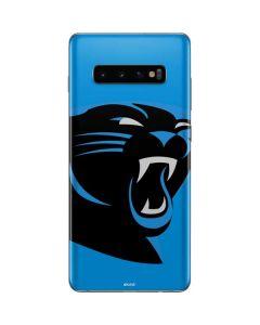 Carolina Panthers Large Logo Galaxy S10 Plus Skin