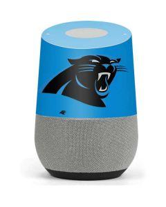 Carolina Panthers Large Logo Google Home Skin