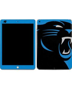Carolina Panthers Large Logo Apple iPad Skin