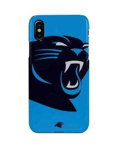 Carolina Panthers Large Logo iPhone XS Max Lite Case