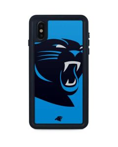 Carolina Panthers Large Logo iPhone XS Max Waterproof Case