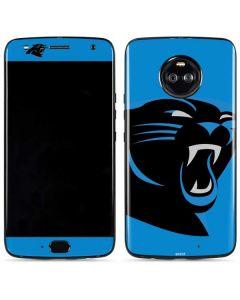 Carolina Panthers Large Logo Moto X4 Skin