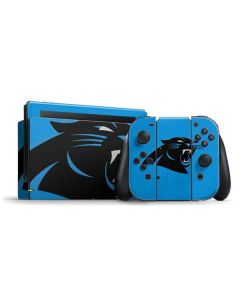 Carolina Panthers Large Logo Nintendo Switch Bundle Skin