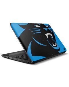 Carolina Panthers Large Logo HP Notebook Skin