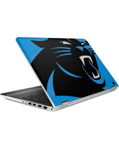 Carolina Panthers Large Logo HP Pavilion Skin