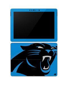 Carolina Panthers Large Logo Surface Go Skin