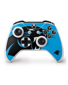 Carolina Panthers Large Logo Xbox One S Controller Skin