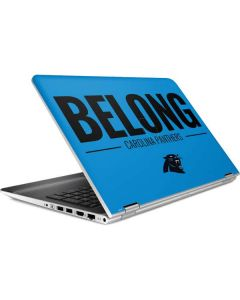 Carolina Panthers Team Motto HP Pavilion Skin