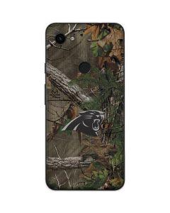 Carolina Panthers Realtree Xtra Green Camo Google Pixel 3a Skin