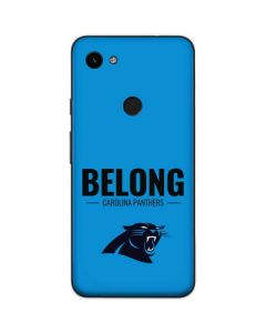 Carolina Panthers Team Motto Google Pixel 3a Skin