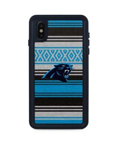 Carolina Panthers Trailblazer iPhone XS Max Waterproof Case