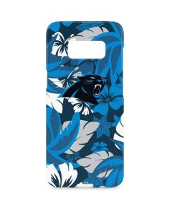 Carolina Panthers Tropical Print Galaxy S8 Plus Lite Case