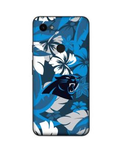Carolina Panthers Tropical Print Google Pixel 3a Skin