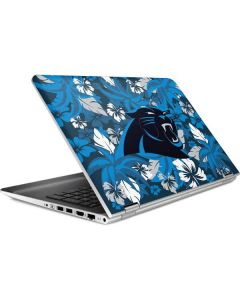 Carolina Panthers Tropical Print HP Pavilion Skin