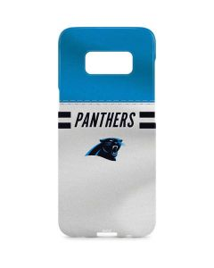 Carolina Panthers White Striped Galaxy S8 Plus Lite Case