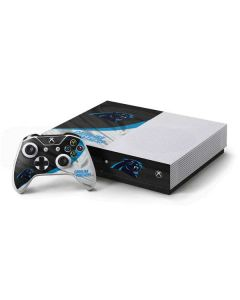 Carolina Panthers Xbox One S Console and Controller Bundle Skin
