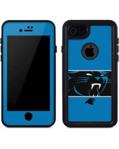 Carolina Panthers Zone Block iPhone 7 Waterproof Case