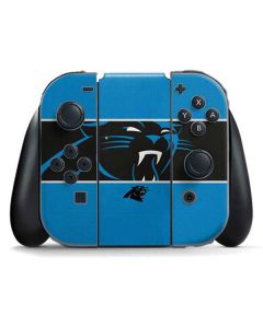Carolina Panthers Zone Block Nintendo Switch Joy Con Controller Skin