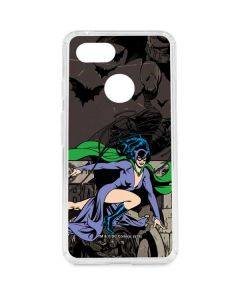 Catwoman Mixed Media Google Pixel 3 Clear Case