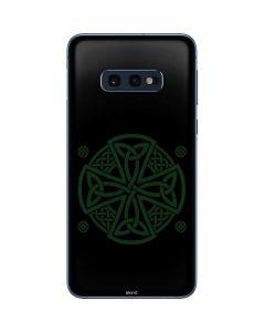 Celtic Cross on Black Galaxy S10e Skin