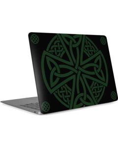 Celtic Cross on Black Apple MacBook Air Skin