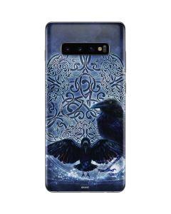Celtic Raven Galaxy S10 Plus Skin
