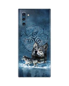 Celtic Wolf Galaxy Note 10 Skin