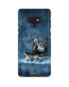 Celtic Wolf Galaxy Note 9 Pro Case
