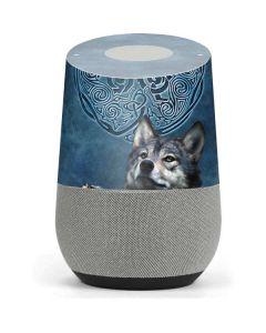 Celtic Wolf Google Home Skin