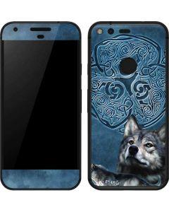 Celtic Wolf Google Pixel Skin