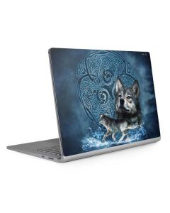 Celtic Wolf Surface Book 2 13.5in Skin