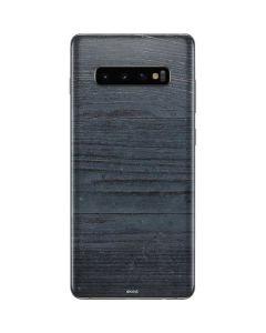 Charcoal Wood Galaxy S10 Plus Skin
