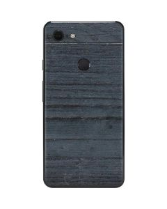 Charcoal Wood Google Pixel 3 XL Skin