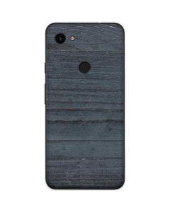 Charcoal Wood Google Pixel 3a Skin