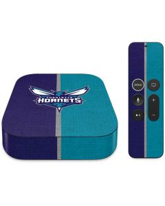 Charlotte Hornets Canvas Apple TV Skin