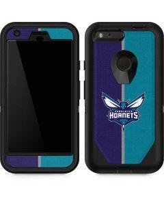 Charlotte Hornets Canvas Otterbox Defender Pixel Skin