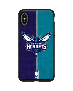 Charlotte Hornets Canvas Otterbox Symmetry iPhone Skin