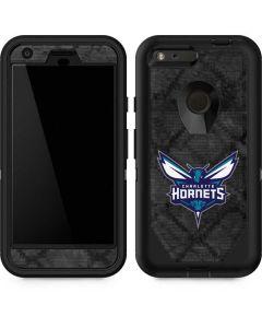 Charlotte Hornets Dark Rust Otterbox Defender Pixel Skin