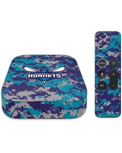 Charlotte Hornets Digi Camo Apple TV Skin
