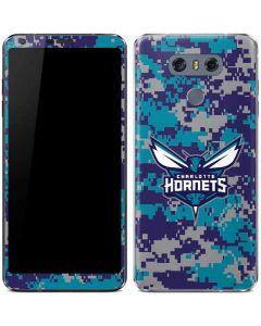 Charlotte Hornets Digi Camo LG G6 Skin