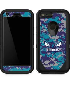 Charlotte Hornets Digi Camo Otterbox Defender Pixel Skin