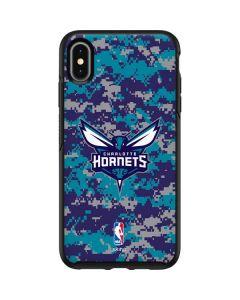 Charlotte Hornets Digi Camo Otterbox Symmetry iPhone Skin