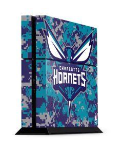 Charlotte Hornets Digi Camo PS4 Console Skin