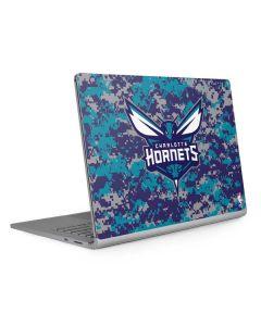 Charlotte Hornets Digi Camo Surface Book 2 13.5in Skin