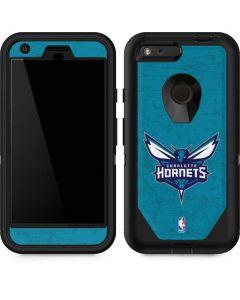 Charlotte Hornets Distressed-Aqua Otterbox Defender Pixel Skin