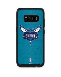 Charlotte Hornets Distressed-Aqua Otterbox Symmetry Galaxy Skin